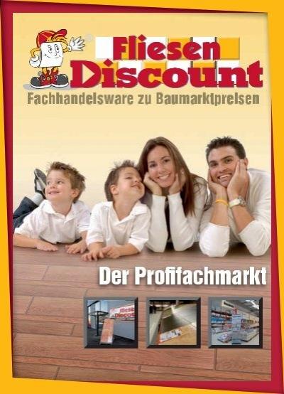 Fliesen discount profil brosch re for Fliesen discount