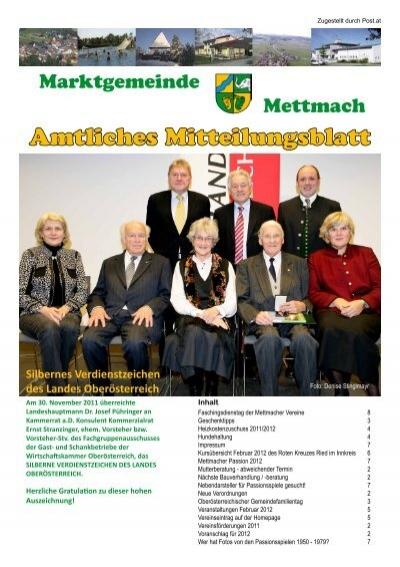 Mettmach - Zentrum - Gemeinde und Service - Jobbrse