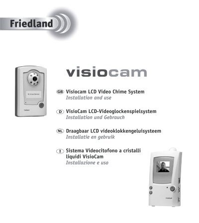 VisioCam LCD Video Chime System - Friedland