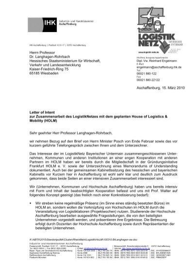 Haftung der parteien schl letter of intent zur zusammenarbeit des logistiknetzes mit dem spiritdancerdesigns Image collections