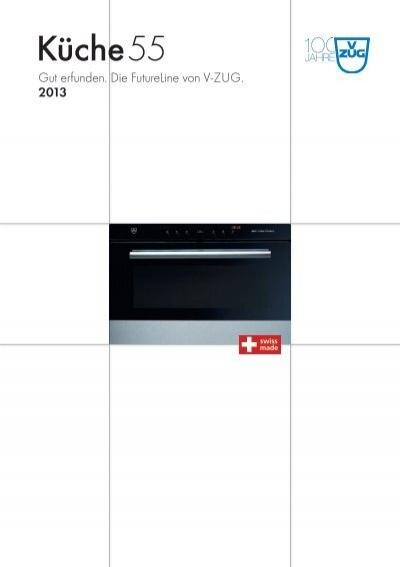 Prospekt Küche 55 (PDF / 9.8 MB) - V-ZUG Ltd