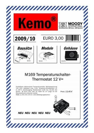 Alarmkontakt zum Einlassen A003 Kemo