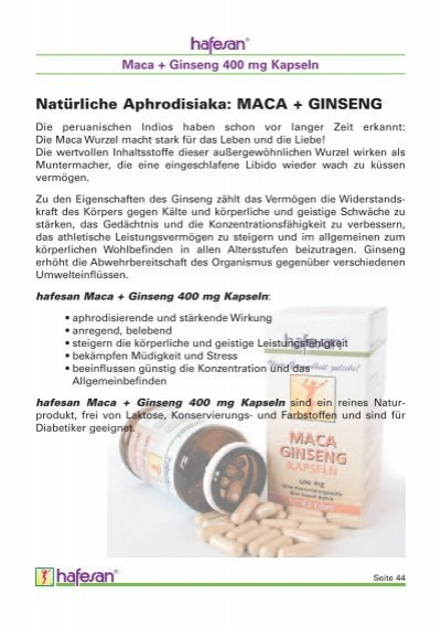 maca ginseng 400 mg kap. Black Bedroom Furniture Sets. Home Design Ideas