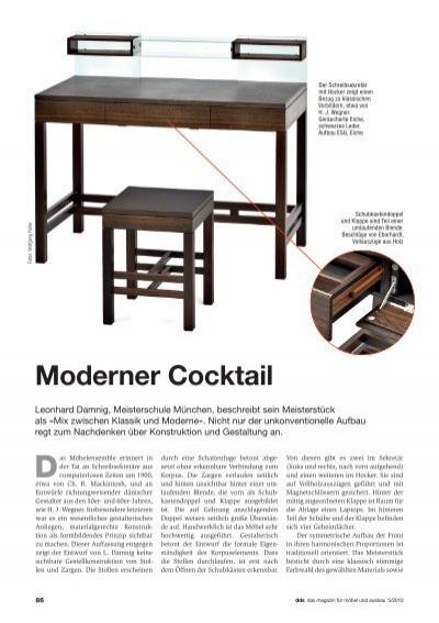 moderner cocktail meisterschule schreiner m nchen. Black Bedroom Furniture Sets. Home Design Ideas