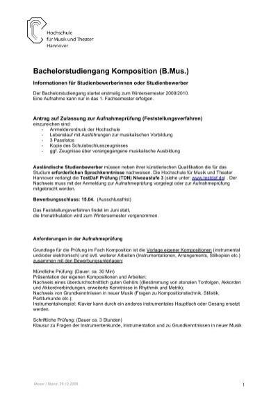 Antrag Auf Zulassung Zum Studium Für Ausländische Studienbewerber/Innen