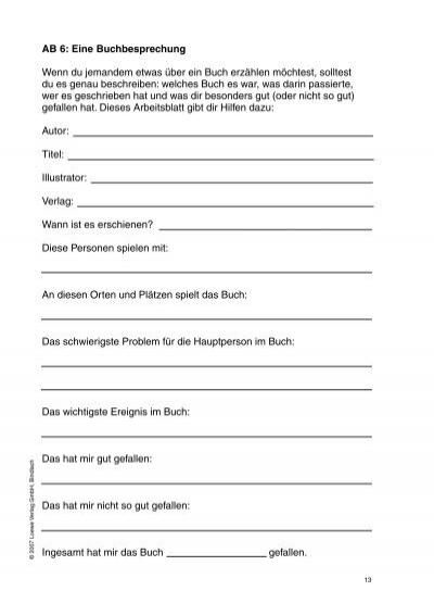 Tolle Buchbesprechung Arbeitsblatt Fotos - Mathe Arbeitsblatt ...