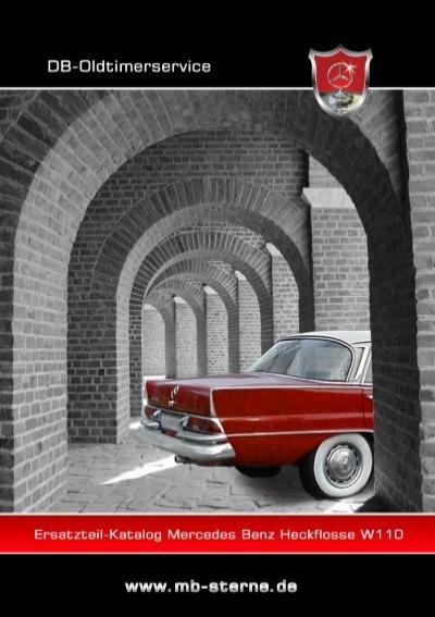 Mercedes W108 W110 W111 W113 W114 Wasserpumpe Entlüftungsleitung Reparatursatz