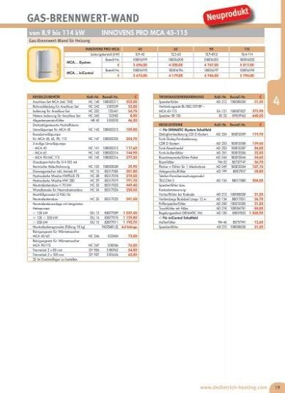 GAS-BRENNWERT-WAND von 3,
