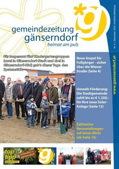 Gnserndorf meine stadt bekanntschaften - Attnang singletreff ab 50