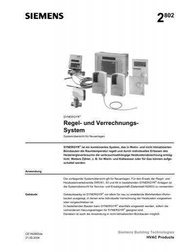2802 Regel- und Verrechnungs- System - Siemens Schweiz AG