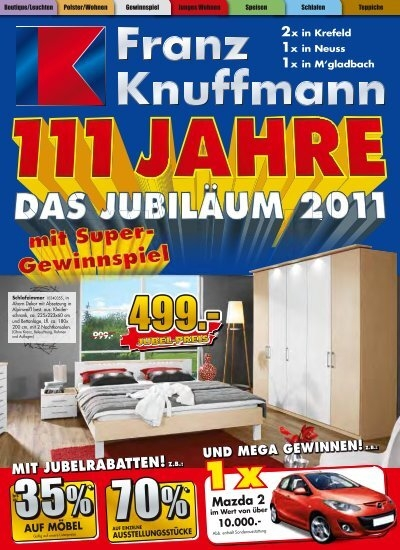 Knuffmann Neuss jubel preis einrichtungshaus franz knuffmann