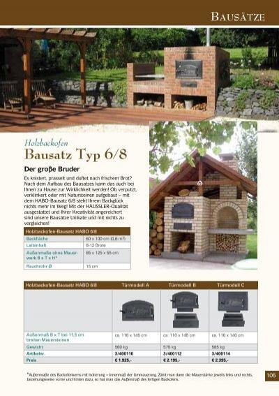 holzbackofen bausatz typ. Black Bedroom Furniture Sets. Home Design Ideas