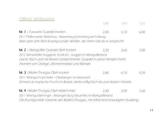Weinkarte   Esszimmer Kirchzarten, Esszimmer Dekoo