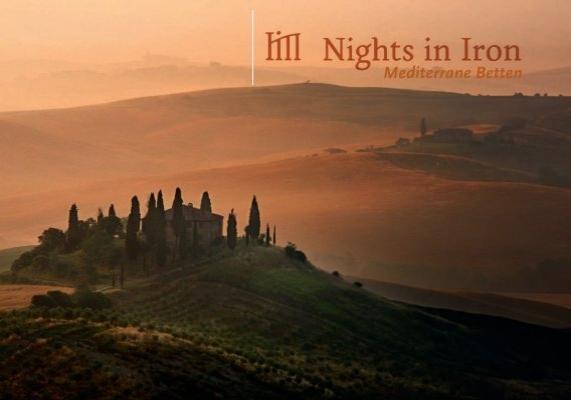mediterrane betten italienische eisenbetten nights in iron. Black Bedroom Furniture Sets. Home Design Ideas
