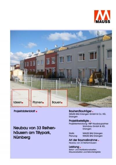 projektdatenblatt tillypark mauss. Black Bedroom Furniture Sets. Home Design Ideas