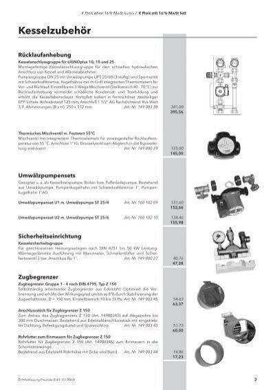 Großzügig Kesselzubehör Pdf Ideen - Die Besten Elektrischen ...