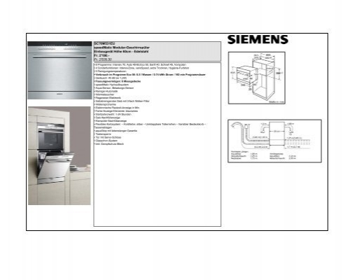 sc76m531eu speedmatic modular geschirrsp ler einbauger t. Black Bedroom Furniture Sets. Home Design Ideas