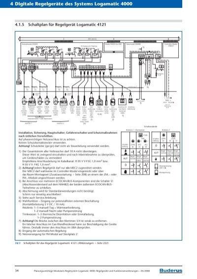 Buderus Ecomatic 4000 Schaltplan Pdf Free - medstaff