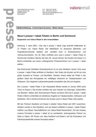 090403 Kaisers und Kaufland - Valora Retail Deutschland