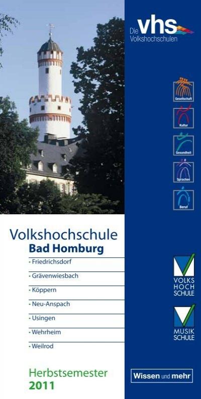 Len Bad Homburg volkshochschule und musikschule bad homburg