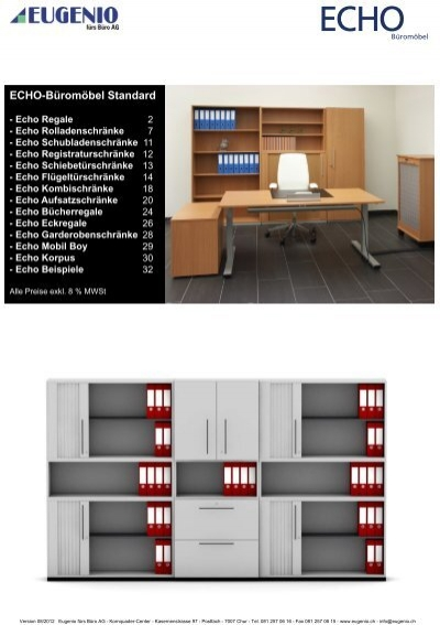 Echo Büromöbel - Design
