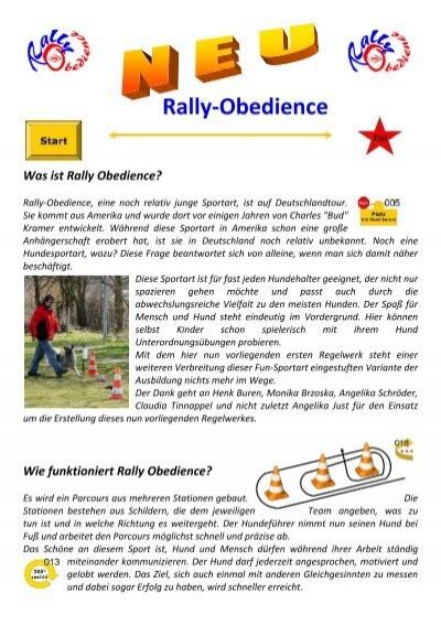 Rally-Obedience - Hundefreunde-Otterstadt