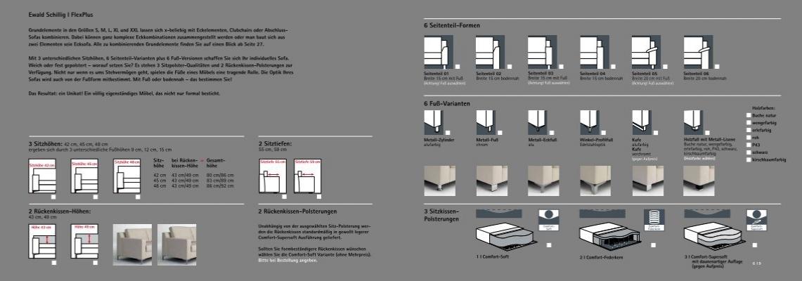 ewald schillig i. Black Bedroom Furniture Sets. Home Design Ideas