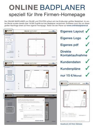online badplaner polypex. Black Bedroom Furniture Sets. Home Design Ideas