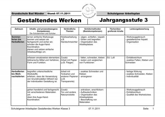 Klasse 3   Grundschule Bad Münder