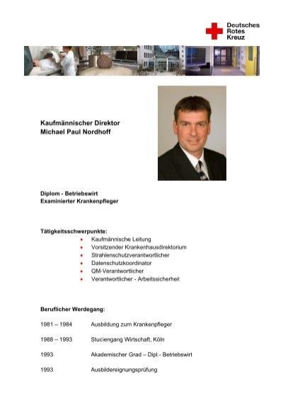 Lebenslauf Martina Schmitz - DRK Krankenhaus Alzey