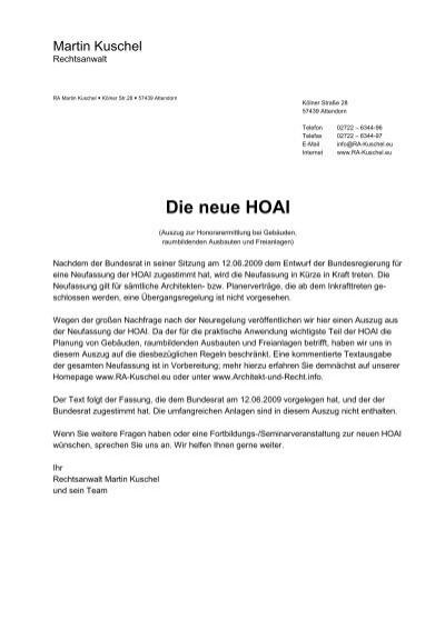 Die Neue Hoai Rechtsanwalt Martin Kuschel