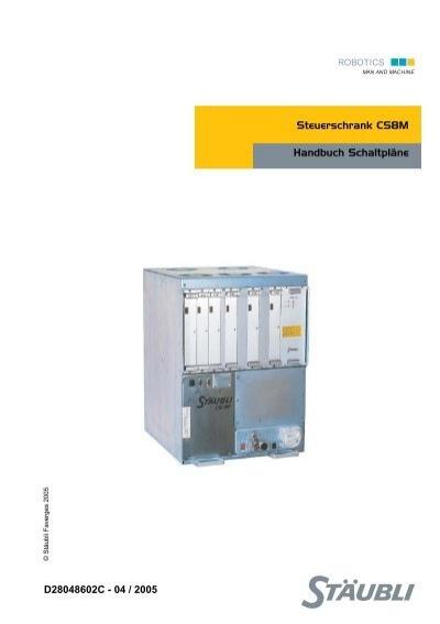 Steuerschrank CS8M Handbuch Schaltpläne ... - eule-roboter.de