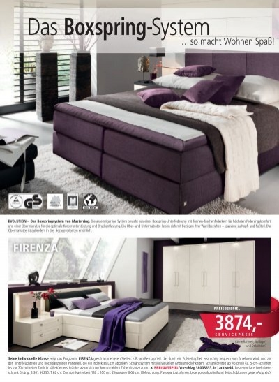das boxspring system m a. Black Bedroom Furniture Sets. Home Design Ideas