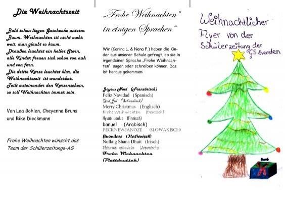 Frohe Weihnachten Irisch.⠞frohe Weihnachten⠜ In Einigen Sprachen⠜