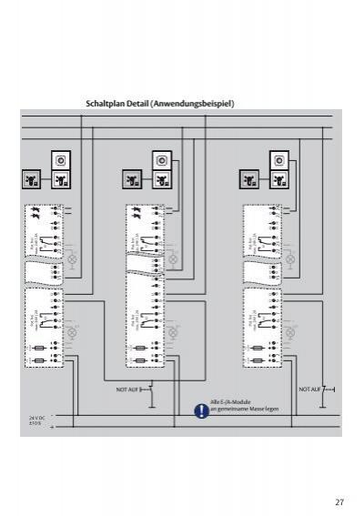 Schaltplan Übersicht I/O