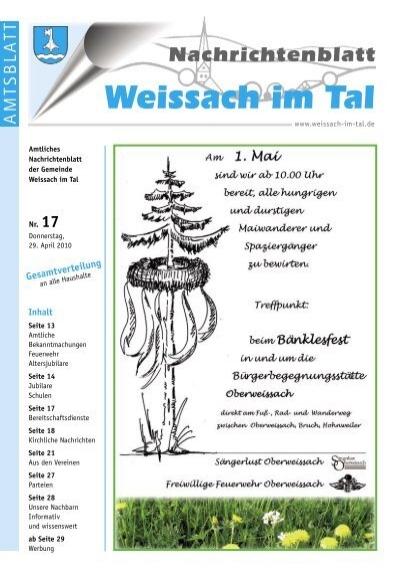 Partnersuche & kostenlose Kontaktanzeigen in Weissach