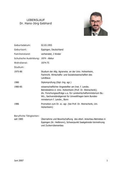 Lebenslauf Prof Dr Hans Jörg Sandkühler Unesco Lehrstuhls
