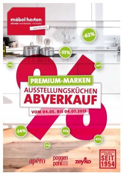 Möbel Herten Küchenabverkauf 2015