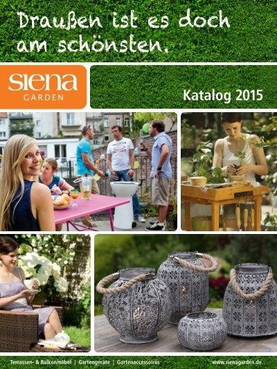Lieblich Siena Garden Katalog 2015