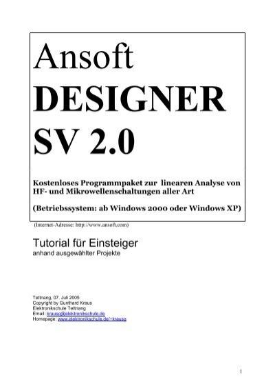 Ansoft Designer  Download