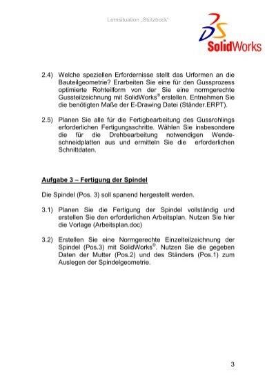 """Lernsituation """"Stützbo"""