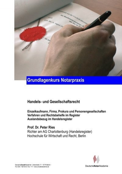 Skript 6 - DeutscheAnwaltAkademie