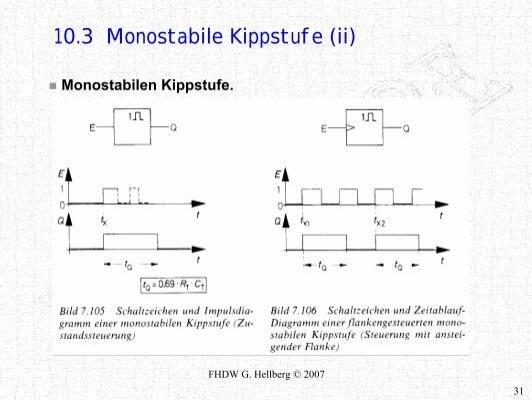 10.3 Monostabile Kippstuf