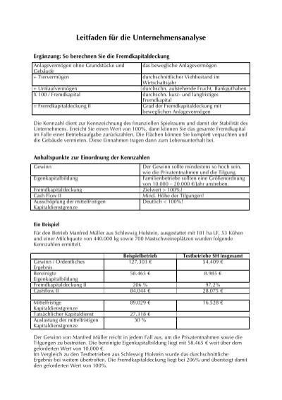 Kapitaldienstgrenze Berechnen : leitfaden f r die unternehmensanalyse ~ Themetempest.com Abrechnung