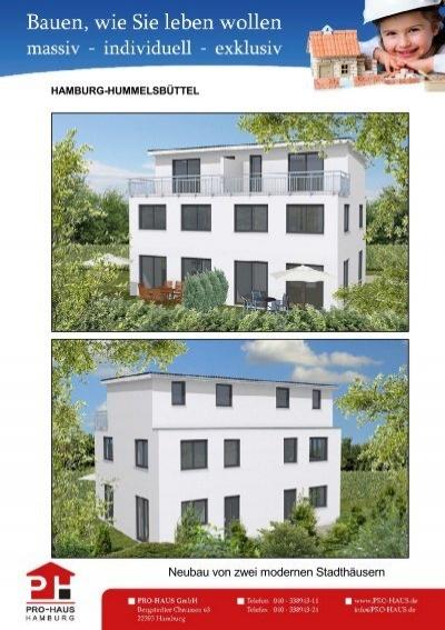 neubau von zwei modernen stadth usern pro. Black Bedroom Furniture Sets. Home Design Ideas