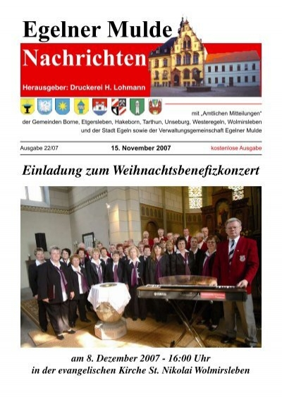 Egelner Nachrichten November 2007 Teil 2 Pdf Dokument
