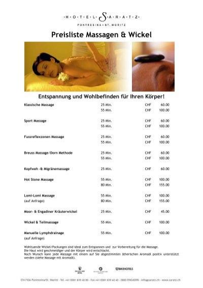 Entspannung und Wohlbefinden für Ihren Körper