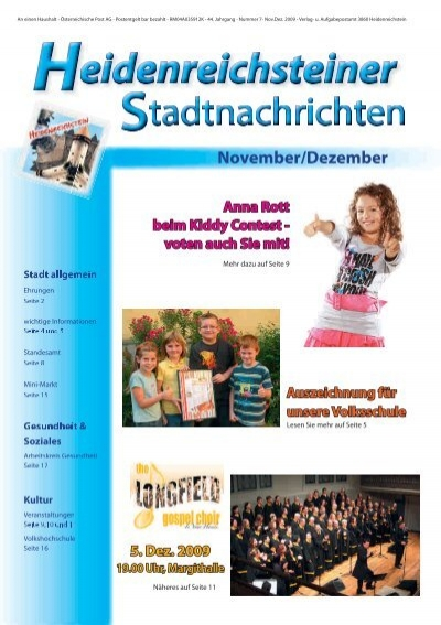 Heidenreichstein bekanntschaften kostenlos - Bad fischau