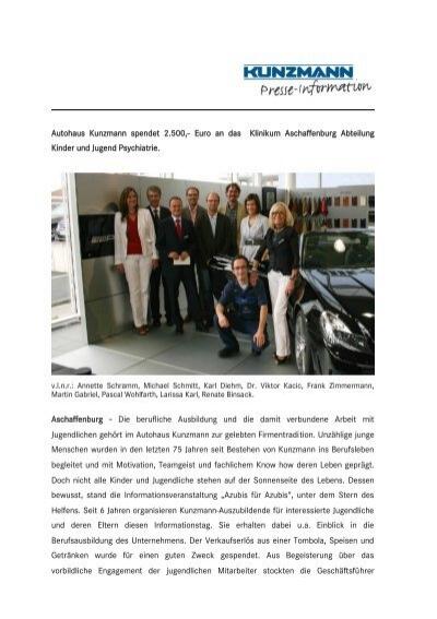 Spende kunzmann pdf 113 kb autohaus kunzmann - Mobel diehm aschaffenburg ...