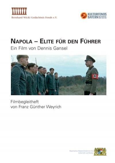 Napola Elite Fur Den Fuhrer Bernhard Wicki Gedachtnisfonds